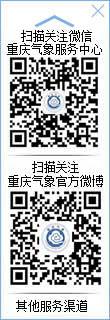 """""""重庆气象服务中心""""微信订阅号"""