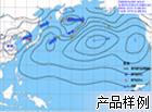 海平面气压场分析